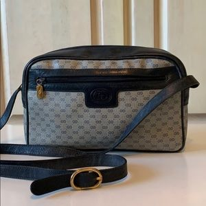 Vintage Gucci Monogram Crossbody / Shoulder Bag